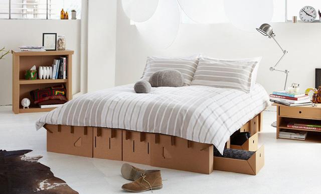 giường giấy