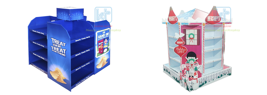 kệ giấy trưng bày sản phẩm Khang Thành