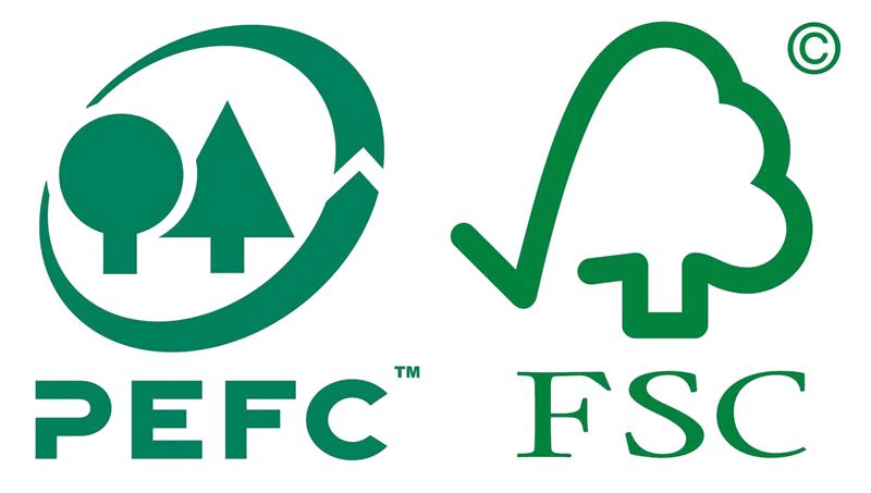 bao bì PEFC môi trường bền vững
