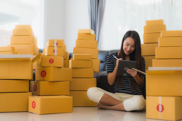 cách tìm thùng carton miễn phí tại văn phòng