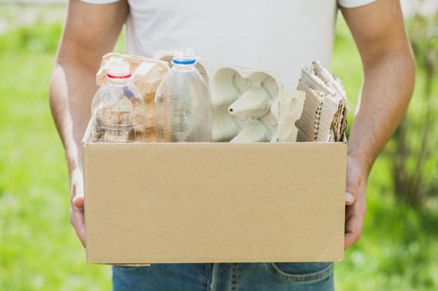 cách tìm thùng carton miễn phí tại nhà hàng