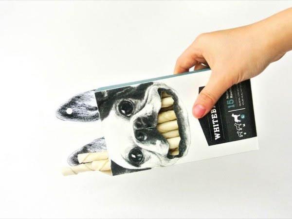 thiết kế bao bì giấy sáng tạo nhất thế giới